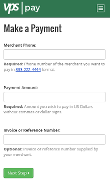 mobile transaction screenshot